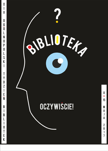 Plakat Tygodnia Bibliotek